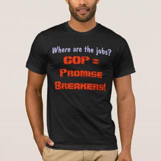 GOP Promise Breakers  dark t-shirt