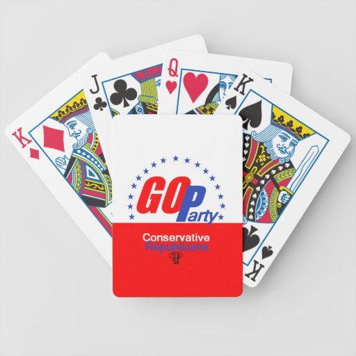GOP REPUBLICAN CARD DECKS