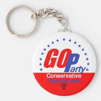 GOP Republican Keychain
