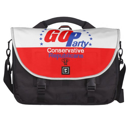 GOP REPUBLICAN LAPTOP COMMUTER BAG