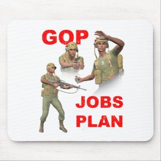 GOP, Republicans, Jobs Plan Mouse Pad