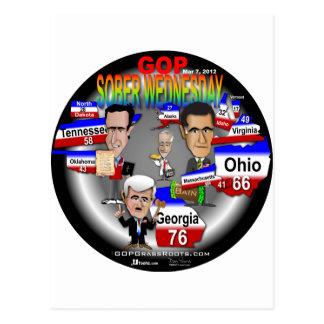 GOP Sober Wednesday Postcard