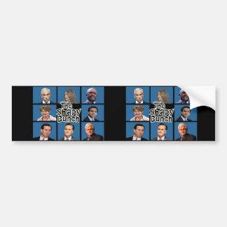 GOP - The Shady Bunch - Paul Romney Palin Bachmann Car Bumper Sticker