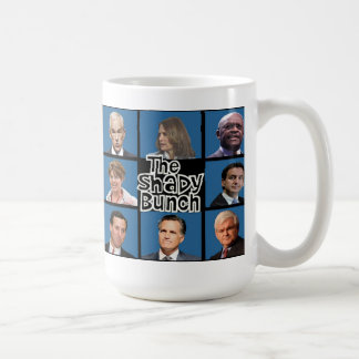 GOP - The Shady Bunch - Paul Romney Palin Bachmann Coffee Mug