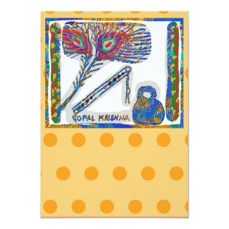 Gopal Krishna n  Gold Dots - For Special Occasions Card