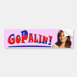 GOPALIN! - Sarah Palin Bumper Sticker