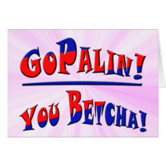 GOPALIN! - You Betcha! Card