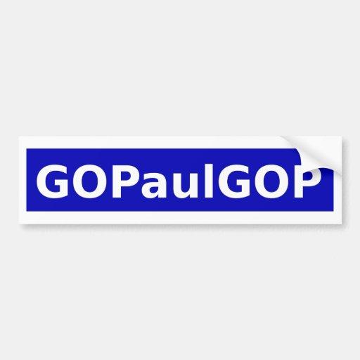 GOPaul Pegatina Para Auto