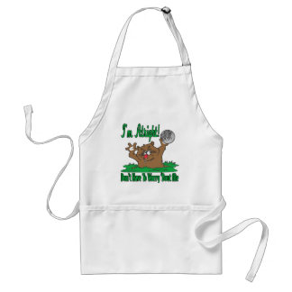 Gopher and the Golfball Adult Apron