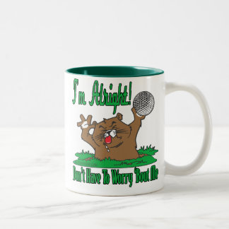 Gopher and the Golfball Two-Tone Coffee Mug