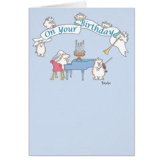 GOPHER BAROQUE Birthday Card