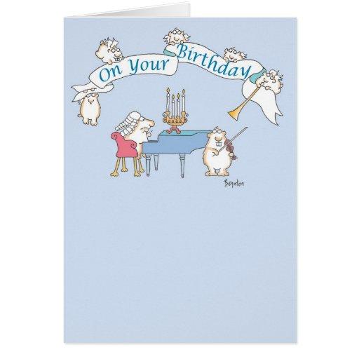 GOPHER BAROQUE Birthday Cards