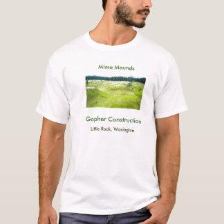 Gopher Construction T-Shirt