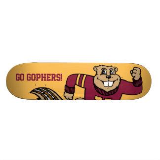 Gopher de Goldy Skate Board