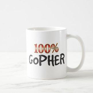 Gopher el 100 por ciento taza