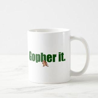 Gopher él taza clásica