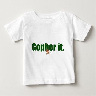 Gopher él tshirts