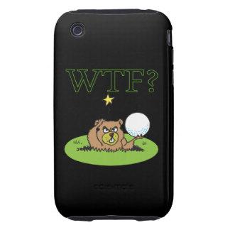 Gopher enojado iPhone 3 tough cobertura