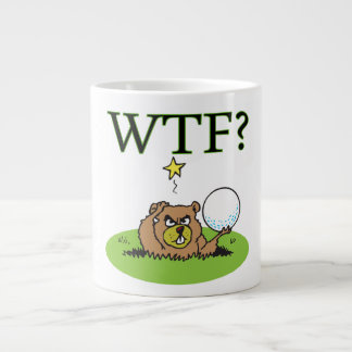 Gopher enojado taza de café gigante