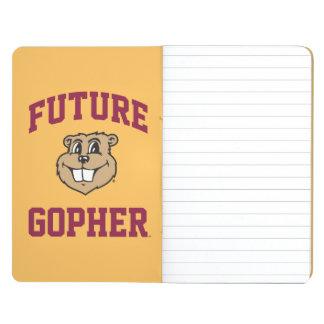 Gopher futuro cuadernos grapados