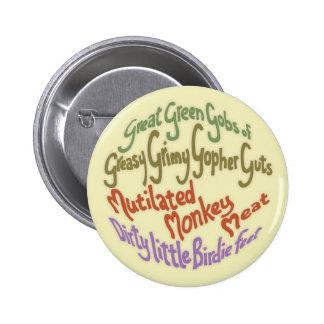 Gopher Guts Pinback Button