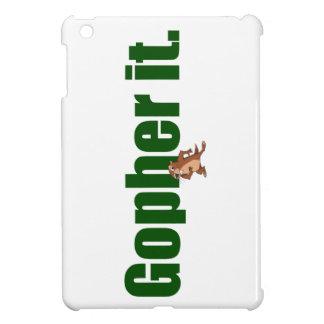 Gopher it. iPad mini cover