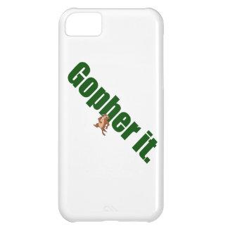 Gopher it. iPhone 5C case
