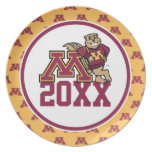 Gopher M Class Year Plates
