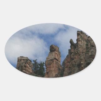 Gopher Rock Oval Sticker