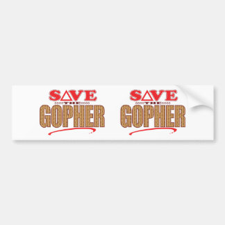 Gopher Save Bumper Sticker