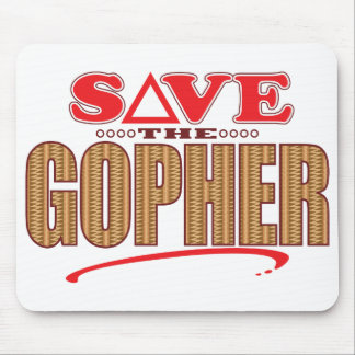 Gopher Save Mouse Pad