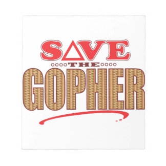 Gopher Save Notepad