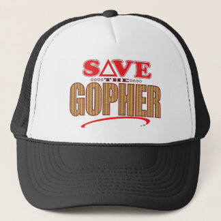 Gopher Save Trucker Hat