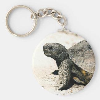 Gopher Tortoise Art Keychain