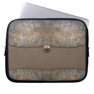 Gopher Tortoise Shell Clutch Laptop Sleeve