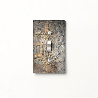 Gopher Tortoise Shell Design Light Switch Cover
