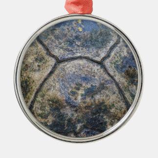 Gopher Tortoise Shell Metal Ornament