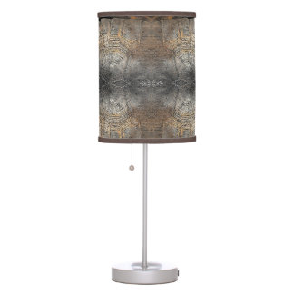 Gopher Tortoise Shell Pattern Desk Lamp