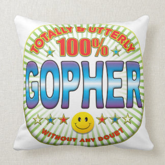 Gopher Totally Pillow