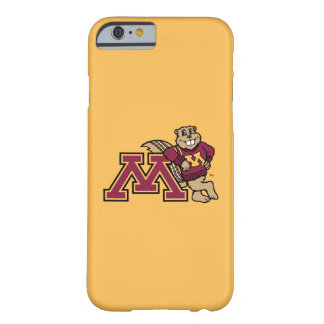 Gopher y Minnesota M de Goldy Funda De iPhone 6 Barely There