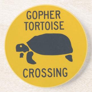 gophercrossing2 drink coaster