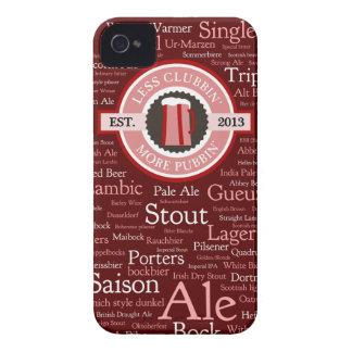 GoPubbin' Beer Styles iPhone 4 Case