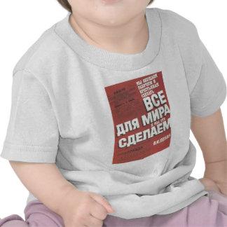 Gorbachev 013 camisetas