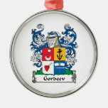 Gordeev Family Crest Christmas Ornaments
