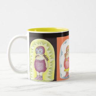 Gordi-Figthers Two-Tone Coffee Mug