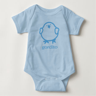 gordito = chunk of love baby bodysuit