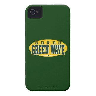Gordo High School Green Wave iPhone 4 Cover
