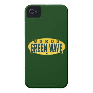 Gordo High School; Green Wave iPhone 4 Case