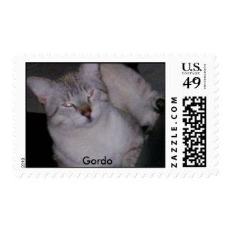 Gordo U.S. Postage Stamp