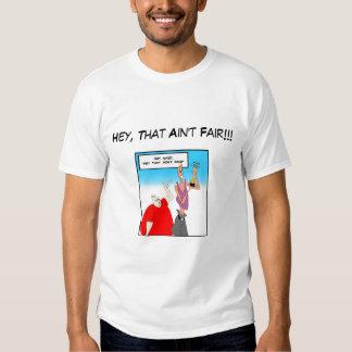 Gordo y flaco: ¡Ey, eso no es justo!!! Camisas